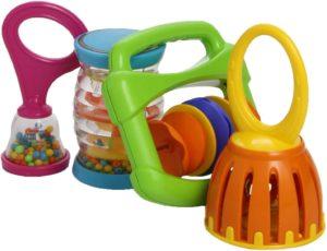 instrumentos para bebes